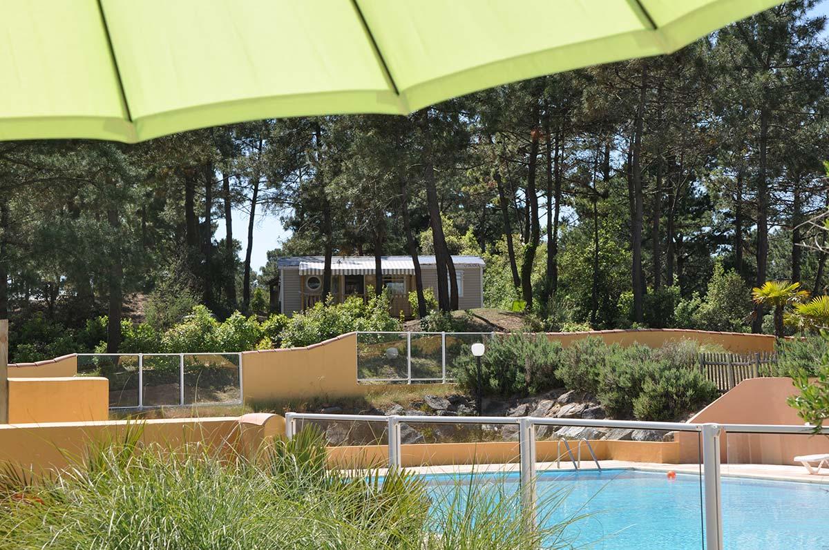 Vue Camping piscine