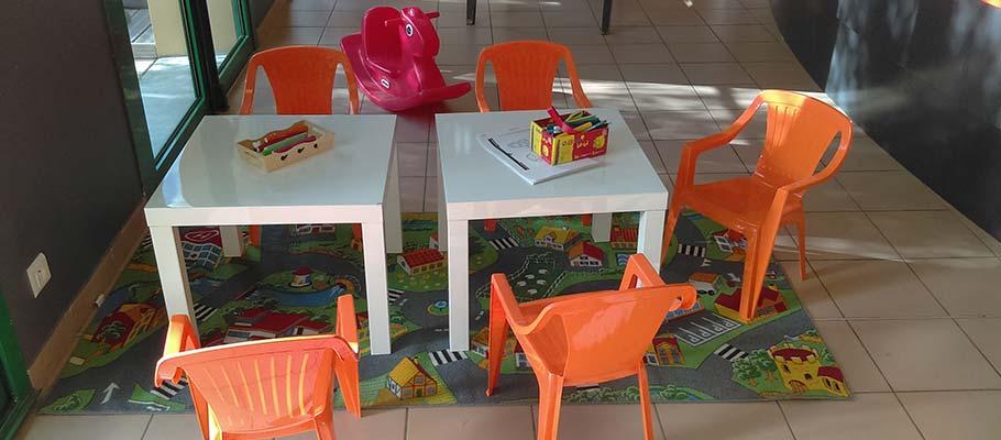 espace enfants location salle Saint Hilaire de Riez