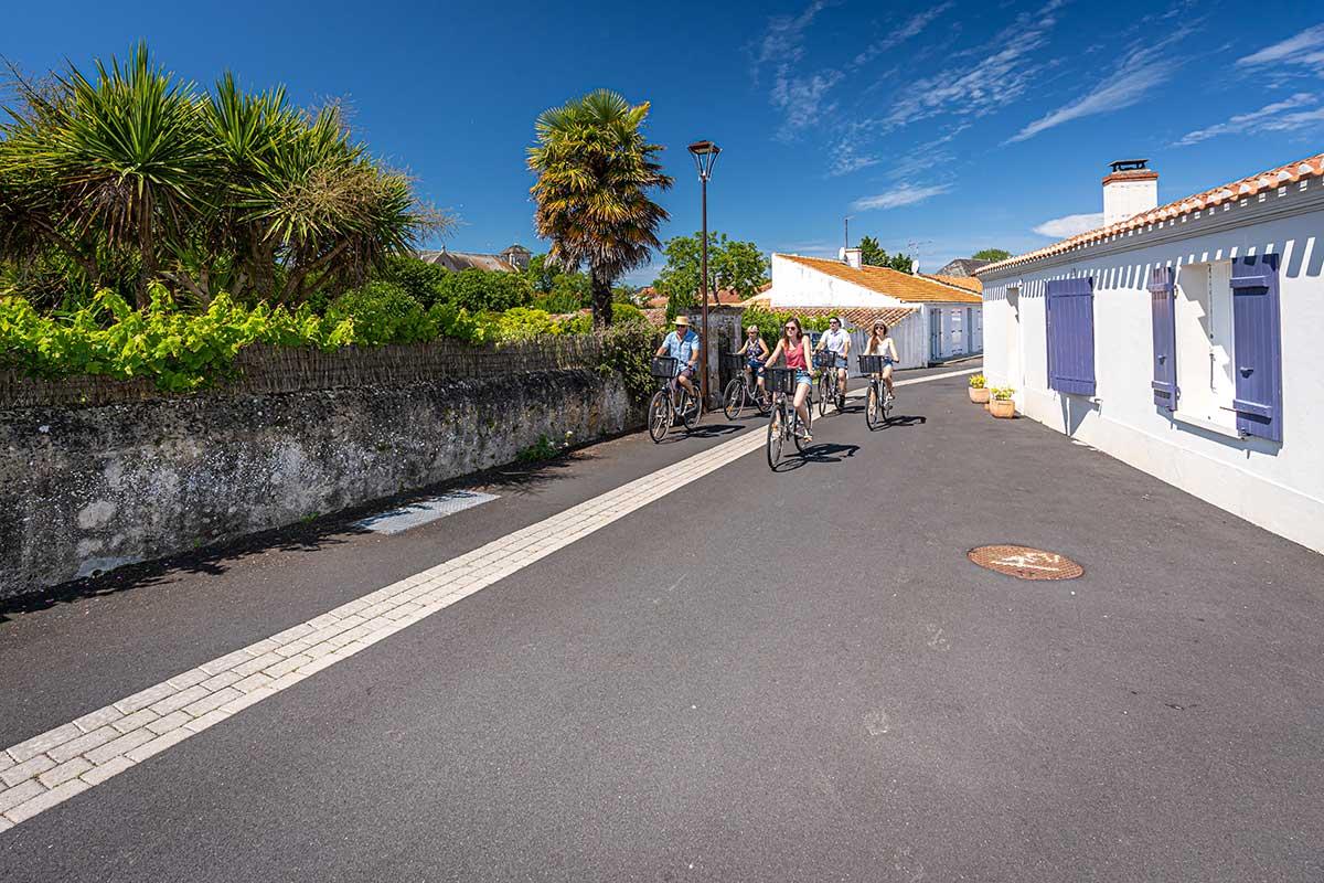 Pistes cyclables vendéennes