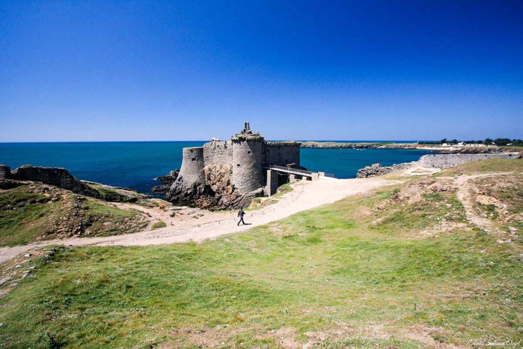 Le vieux chateau sur l'Ile d'Yeu
