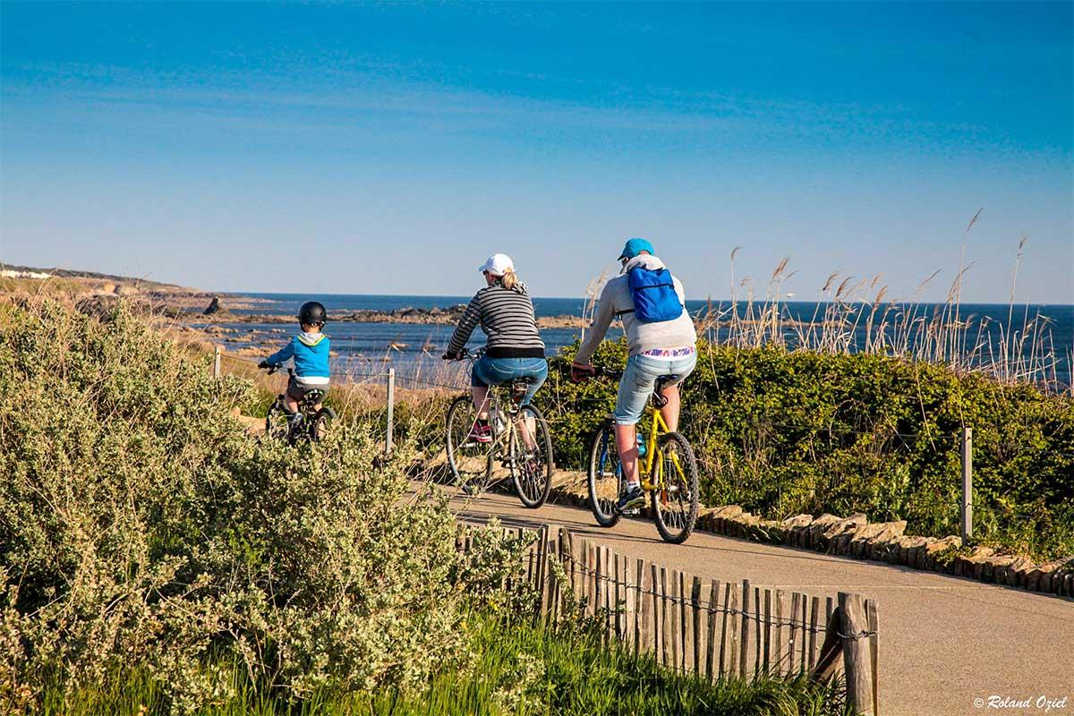Pistes cyclables et randonnées en Vendée