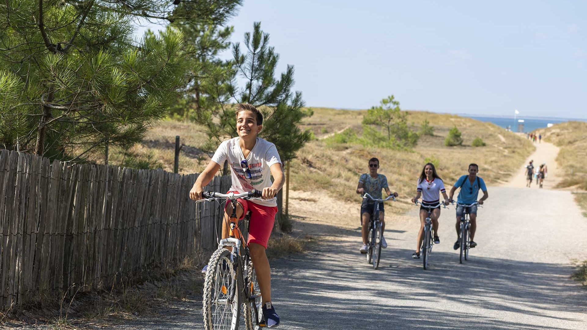 Les pistes cyclables et randonnées Vendée