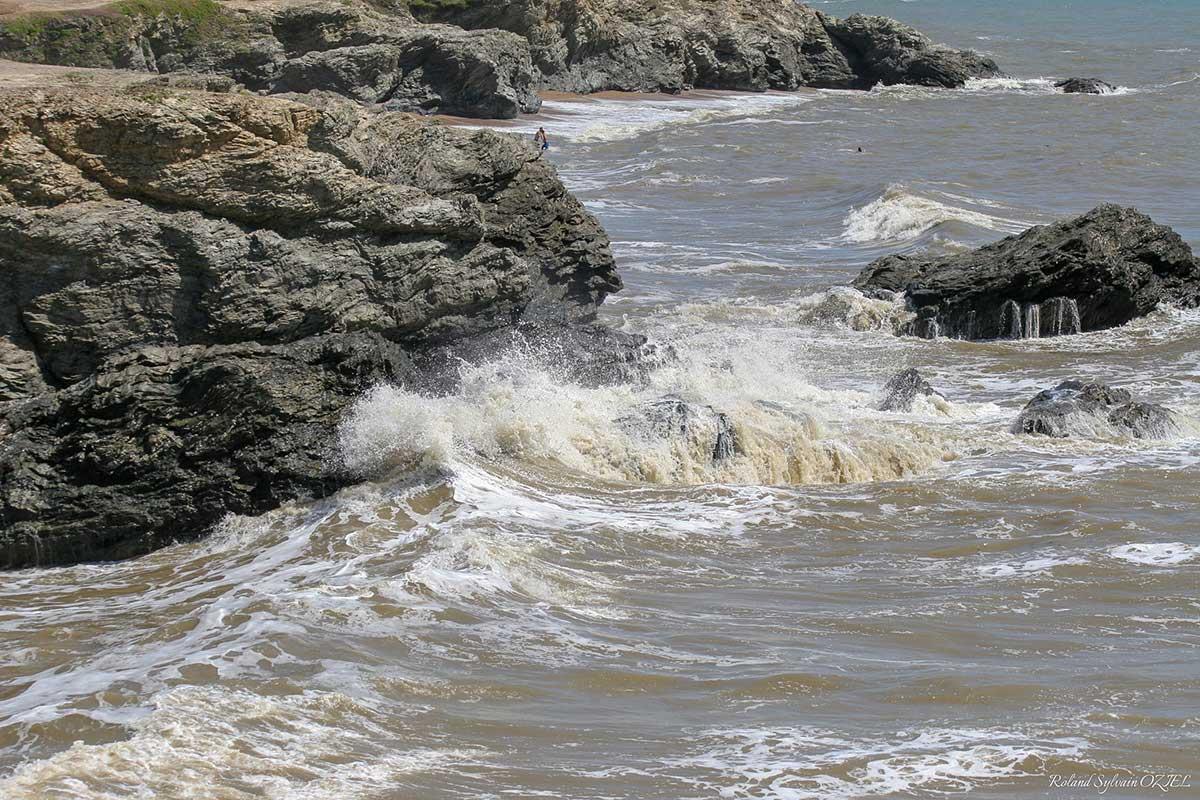 Saint Hilaire de Riez la côte rocheuse